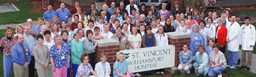St. Vincent Hospital ranks #8 nationally for quality care.